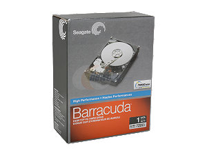 Seagate ST310005N1A1AS-RK 1TB 7200 RPM 32MB Cache SATA 3.0Gb/s 3.5""
