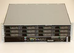 SGI RACKABLE 3U STORAGE SERVER S3012-F 2 x DUAL CORE 8GB 12 x 250GB SATA RAID