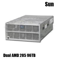 4U Sun x4500 Dual AMD 285 Dual Core 2.6Ghz 16GB RAID server 96TB ZFS RAID-